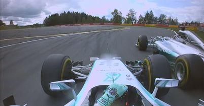 Rosberg responds to Lewis