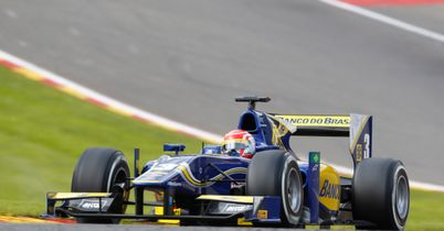 Nasr eases to Sprint Race win