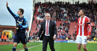 Mark Hughes (R): Wants to keep Stoke's Asmir Begovic