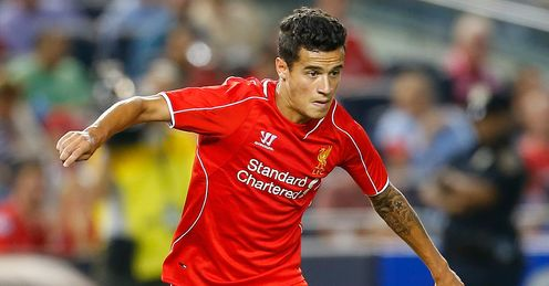 Philippe Coutinho: Enjoying life at Liverpool