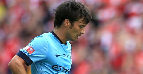 David Silva: Insists title pressure is on Chelsea