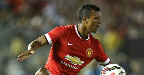 Nani: Spent eight years at Manchester United