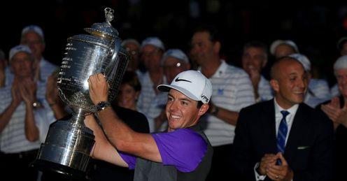 PGA glory for McIlroy