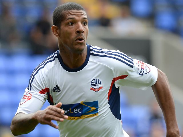 Jermaine Beckford: At the double for Bolton