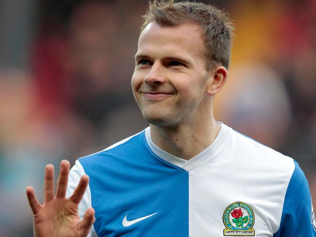 Jordan Rhodes: Gave Blackburn Rovers the lead