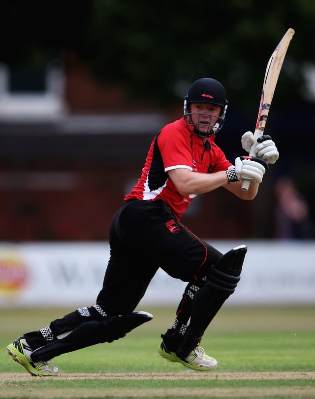 Niall O'Brien: Scored a century for Leicestershire