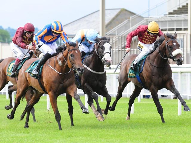 Cappella Sansevero (right) won at the Curragh