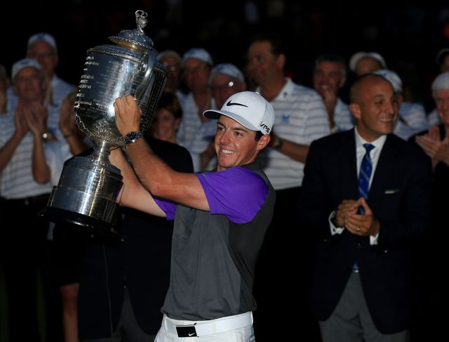 Rory McIlroy: Won the US PGA