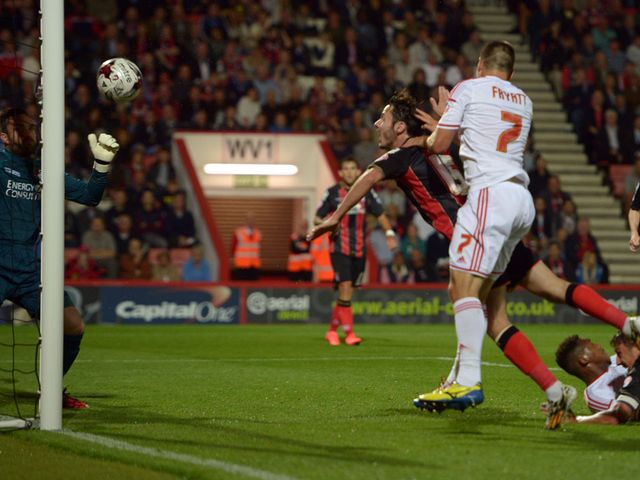 Forest's Matty Fryatt scores Forest's second goal