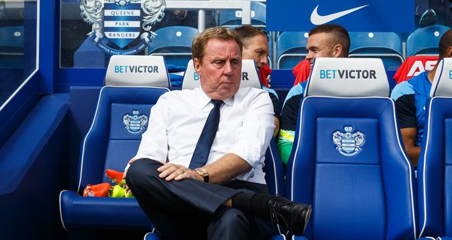Harry Redknapp's QPR side lost 1-0 to Hull on Saturday