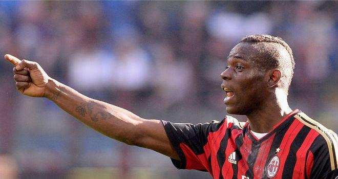 Mario Balotelli: Set to stay in Italy