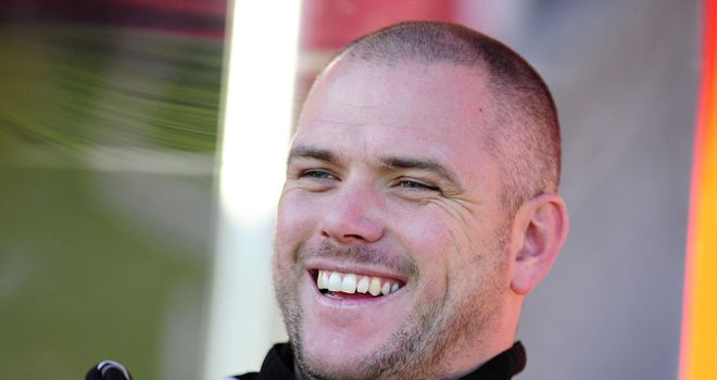 Jim Bentley: Happy striker is staying put