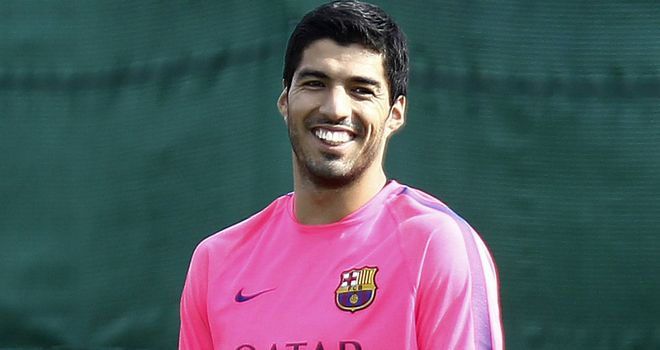 Luis Suarez: Will play some part in Barca's friendly