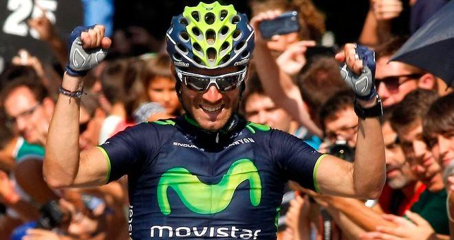Alejandro Valverde claimed his tenth win of the season