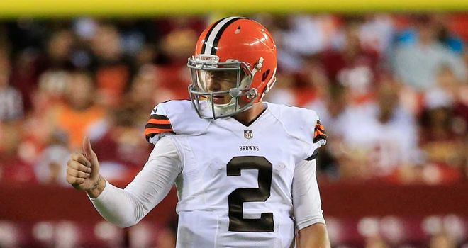 Johnny Manziel: Touchdown run and better performance from Browns rookie