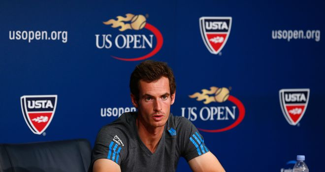Andy Murray: Declared himself in fine shape on his arrival in New York