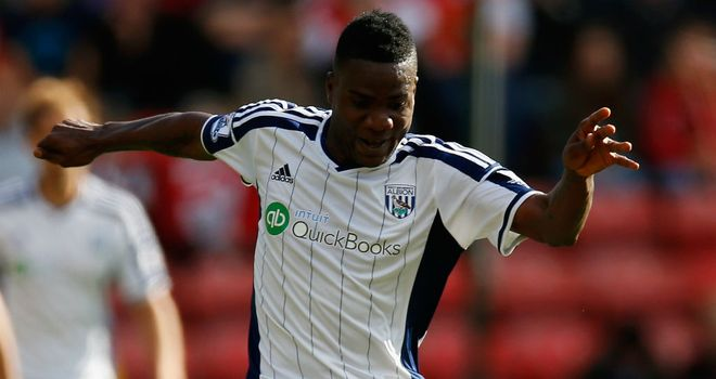 Brown Ideye: West Brom's record signing