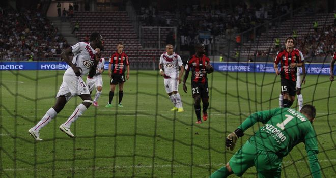 Cheick Diabate scored from the penalty spot