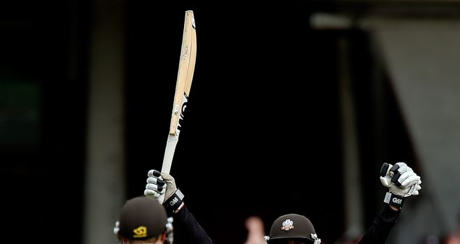 Robin Peterson: Smashed the winning runs to send Surrey to finals day