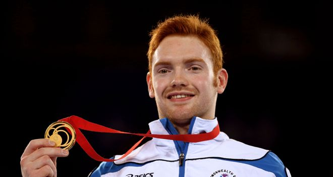 Dan Purvis: Took gold ahead of England duo Nile Wilson and Max Whitlock