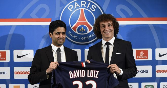 David Luiz: Taking on a new challenge in France