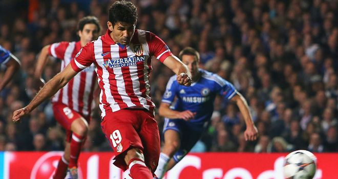 Diego Costa: Admits joining Chelsea was an easy decision