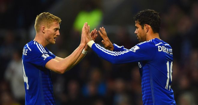 Andre Schurrle: Praised performance of Diego Costa