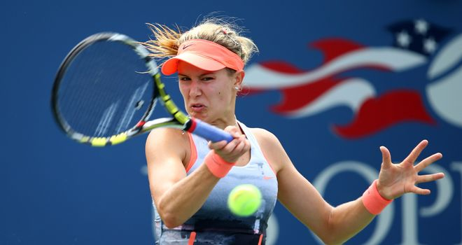Eugenie Bouchard: Has reached at least the semi-finals at all three grand slams in 2014
