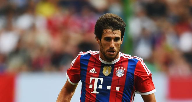 Javi Martinez: Ruled out until the New Year