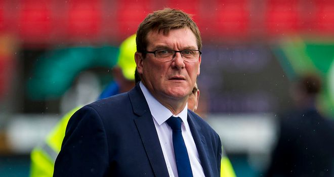 Tommy Wright: Saw new signing secure victory over Motherwell.