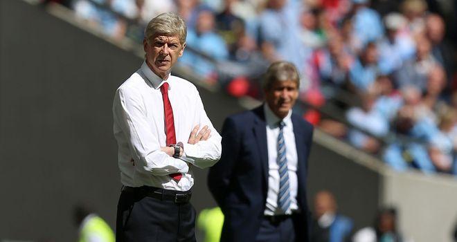 Arsene Wenger: Arsenal boss saw his side overcome Manchester City