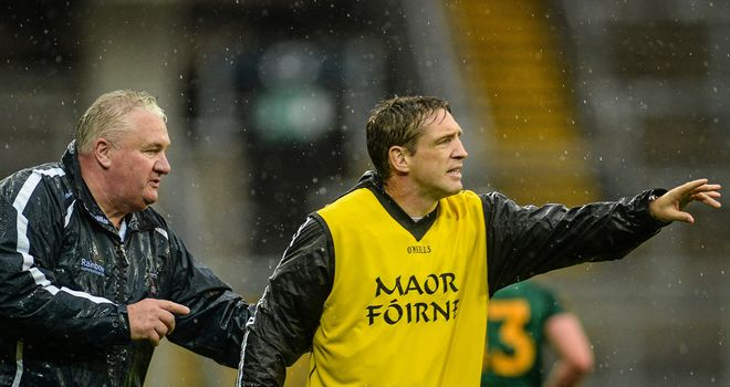 Kieran McGeeney has succeeded Paul Grimley as Armagh manager
