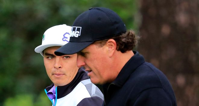 Rickie Fowler and Phil Mickelson will be spurring each other on