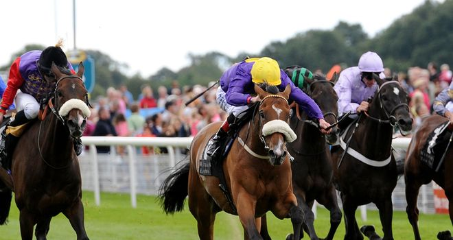 Pale Mimosa: Won the Lonsdale Cup at York