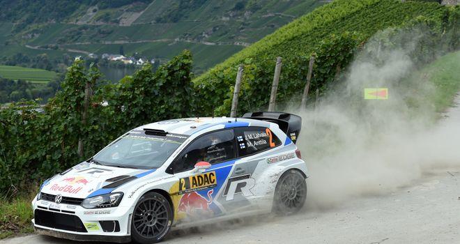 Jari-Matti Latvala: Heading towards victory at the Rally of Germany