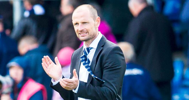 Allan Johnston: Kilmarnock boss praised his team after the win over Ross County