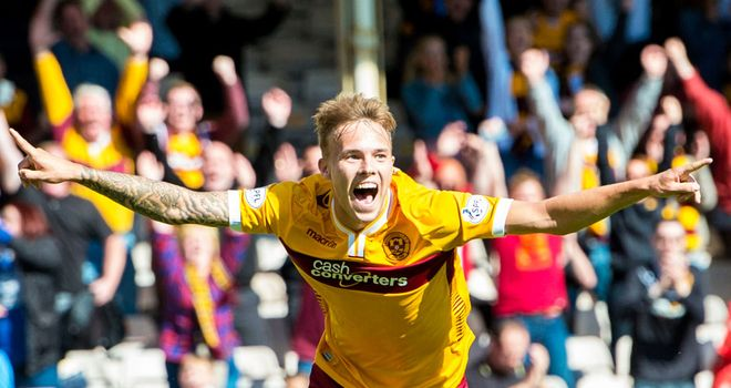 Lee Erwin: Scored the winner on full debut for Motherwell