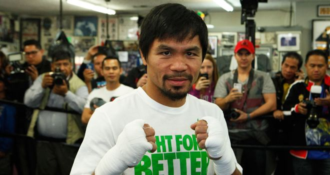 Manny Pacquiao: Defends WBO title against Chris Algieri