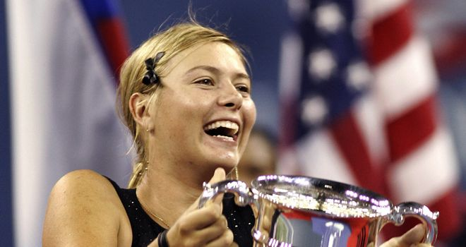 Maria Sharapova: Won her only US Open title eight years ago