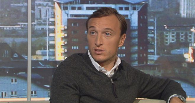 Mark Noble backed boss Sam Allardyce on Goals on Sunday