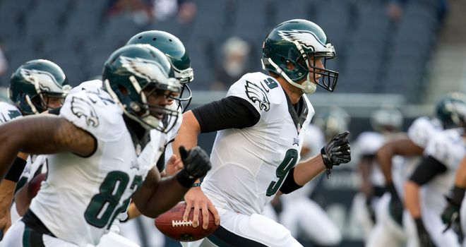Nick Foles and the Philadelphia Eagles could well be the team to catch in the division again