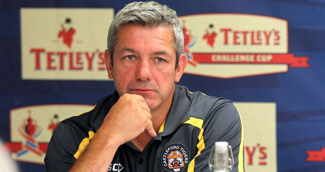 Daryl Powell: Looking to overtake St Helens in the race for the League Leaders' Shield