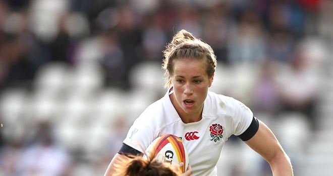 Emily Scarratt: England star looking to end four years of World Cup heartache on Sunday