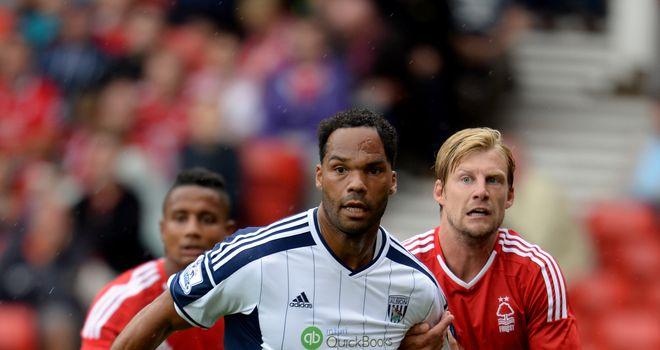 Joleon Lescott: West Brom defender hurt his knee against Nottingham Forest