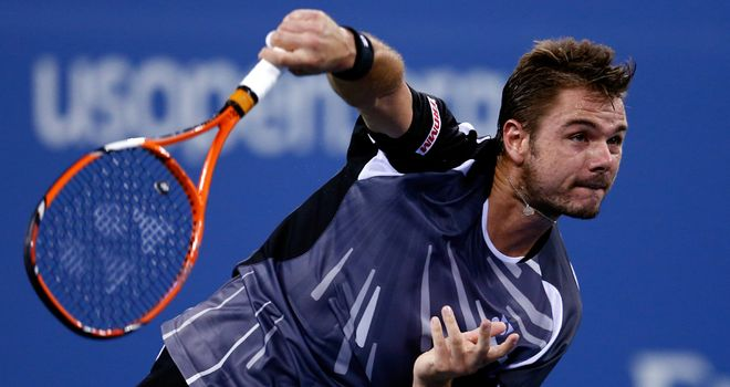 Stan Wawrinka: Needed four sets to beat Thomaz Bellucci at the US Open on Wednesday