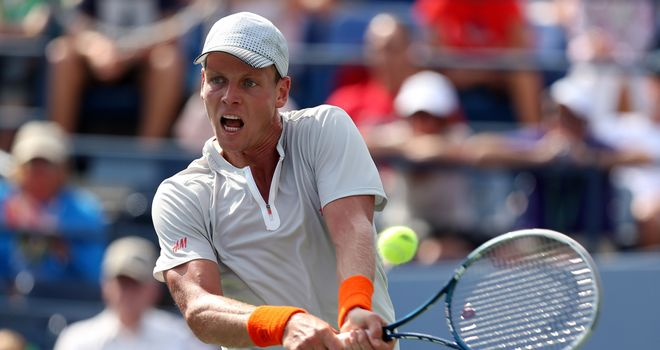 Tomas Berdych: Has had only fleeting success at the grand slam tournaments