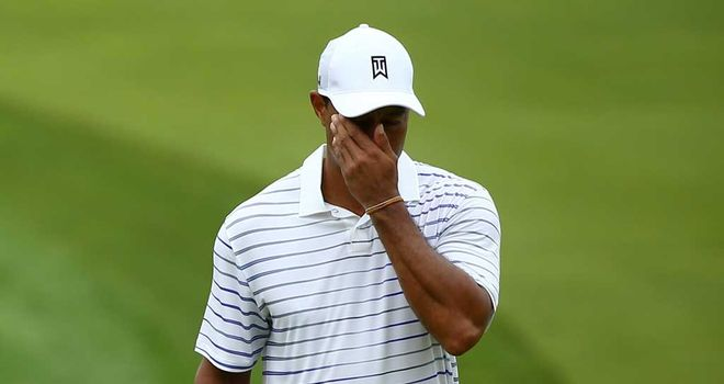 Tiger Woods: Will miss the Ryder Cup with a back injury