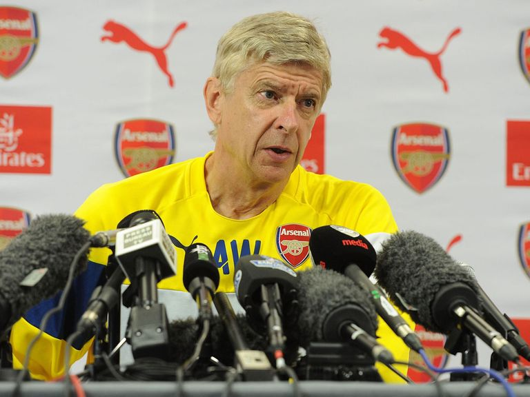 Arsene Wenger: Feels his players haven't had time to recover from the World Cup