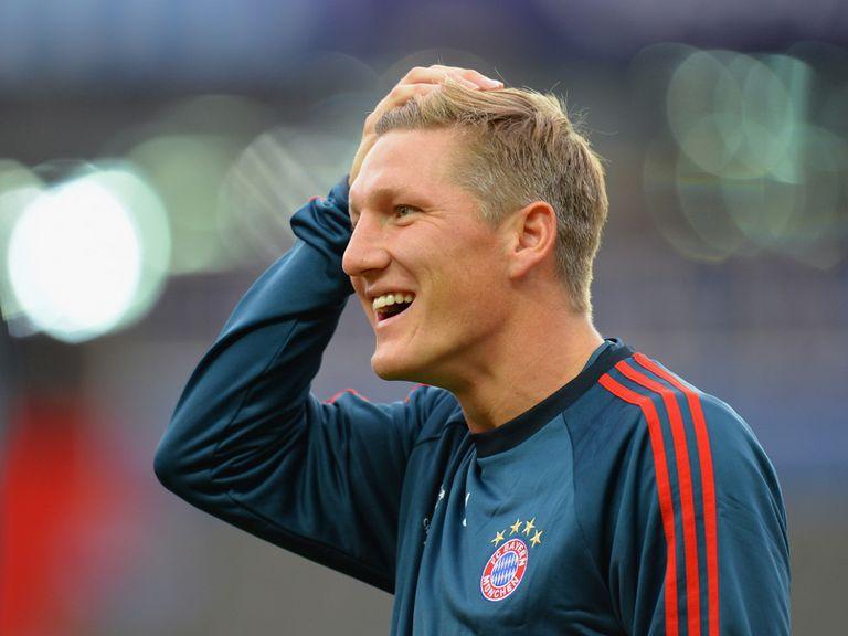 Schweinsteiger: Hampered by a knee injury