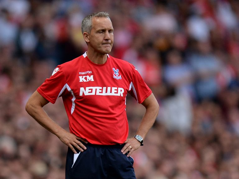 Keith Millen: Currently in caretaker charge of Crystal Palace